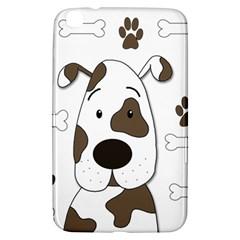 Cute dog Samsung Galaxy Tab 3 (8 ) T3100 Hardshell Case