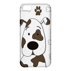 Cute dog Apple iPhone 5C Hardshell Case