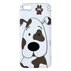 Cute dog iPhone 5S/ SE Premium Hardshell Case