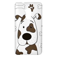 Cute dog HTC One Max (T6) Hardshell Case