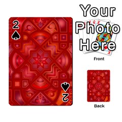 Geometric Line Art Background Playing Cards 54 Designs