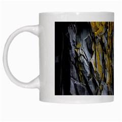 Grey Yellow Stone White Mugs