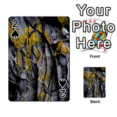 Grey Yellow Stone Playing Cards 54 Designs