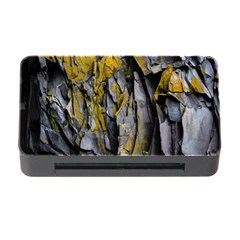 Grey Yellow Stone Memory Card Reader with CF