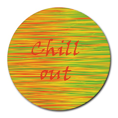 Chill out Round Mousepads