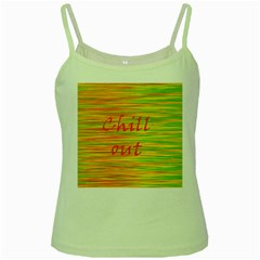 Chill out Green Spaghetti Tank