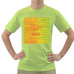 Chill out Green T-Shirt Front