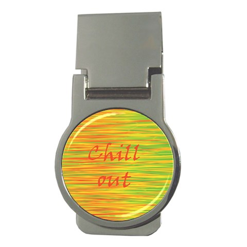 Chill out Money Clips (Round)