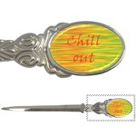 Chill out Letter Openers Front