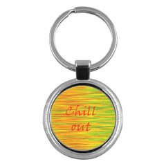 Chill out Key Chains (Round)