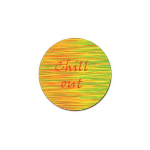 Chill out Golf Ball Marker (4 pack)