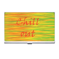 Chill out Business Card Holders