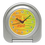 Chill out Travel Alarm Clocks Front