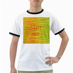Chill out Ringer T-Shirts Front