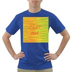 Chill out Dark T-Shirt Front