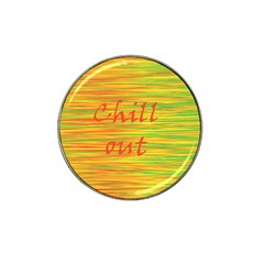 Chill out Hat Clip Ball Marker (4 pack)
