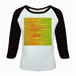 Chill out Kids Baseball Jerseys Front