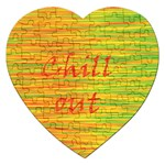 Chill out Jigsaw Puzzle (Heart) Front