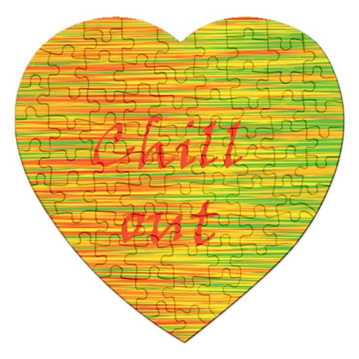 Chill out Jigsaw Puzzle (Heart)