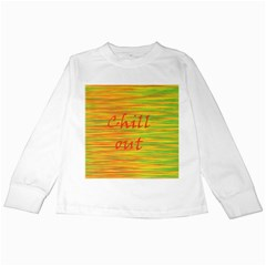 Chill out Kids Long Sleeve T-Shirts