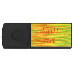 Chill out USB Flash Drive Rectangular (4 GB)