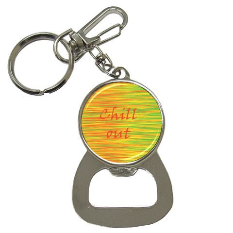 Chill out Bottle Opener Key Chains