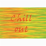Chill out Collage Prints 18 x12 Print - 2