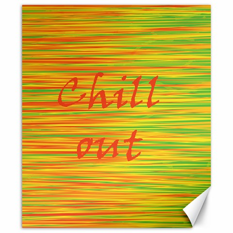 Chill out Canvas 20  x 24