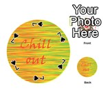 Chill out Playing Cards 54 (Round)  Front - Spade7