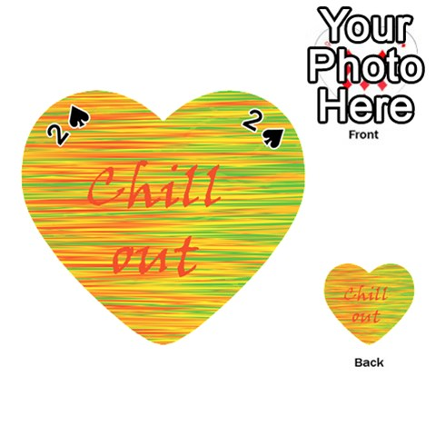 Chill out Playing Cards 54 (Heart)
