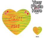 Chill out Playing Cards 54 (Heart)  Front - Diamond10