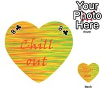 Chill out Playing Cards 54 (Heart)  Front - Club8