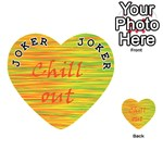 Chill out Playing Cards 54 (Heart)  Front - Joker1