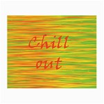 Chill out Small Glasses Cloth (2-Side) Back