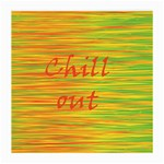 Chill out Medium Glasses Cloth (2-Side) Front