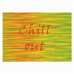Chill out Large Glasses Cloth (2-Side) Front
