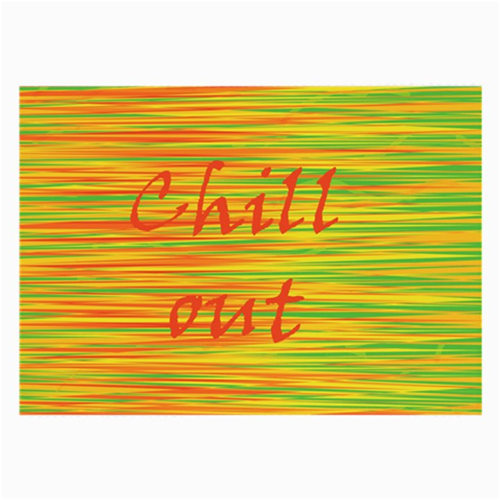 Chill out Large Glasses Cloth (2-Side)