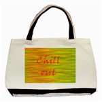 Chill out Basic Tote Bag (Two Sides) Back