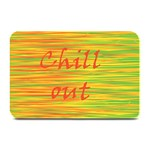 Chill out Plate Mats 18 x12 Plate Mat - 1