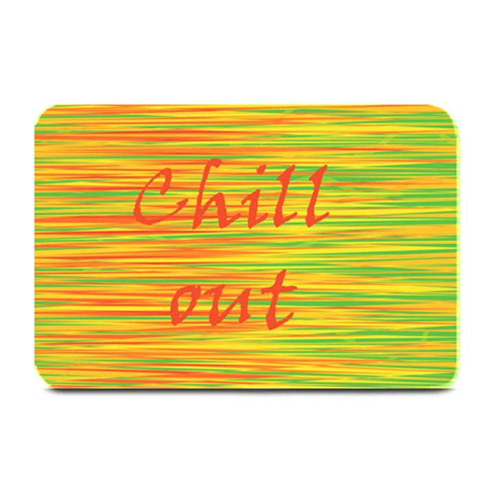 Chill out Plate Mats