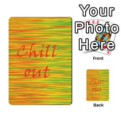 Chill out Multi-purpose Cards (Rectangle)