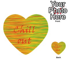 Chill Out Multi Purpose Cards (heart)