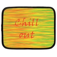 Chill out Netbook Case (Large)