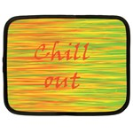 Chill out Netbook Case (Large) Front