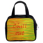 Chill out Classic Handbags (2 Sides) Front