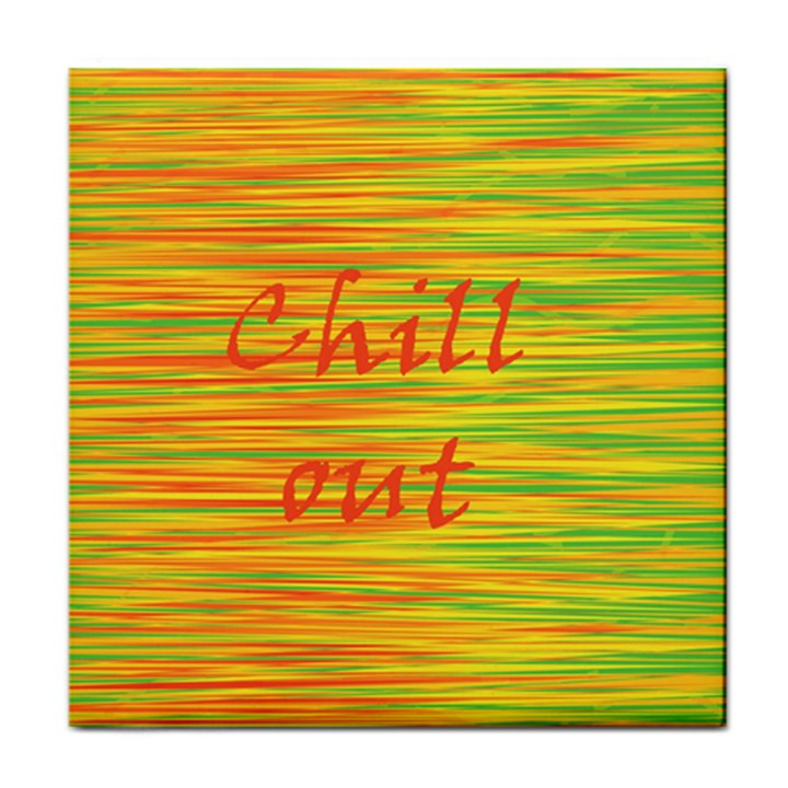 Chill out Face Towel