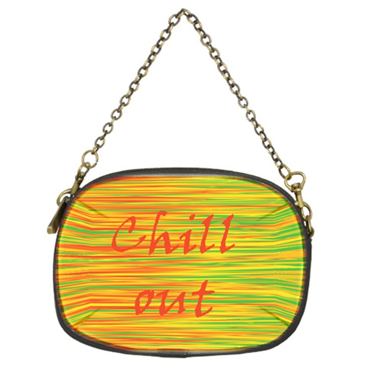 Chill out Chain Purses (Two Sides)