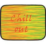 Chill out Fleece Blanket (Mini) 35 x27 Blanket