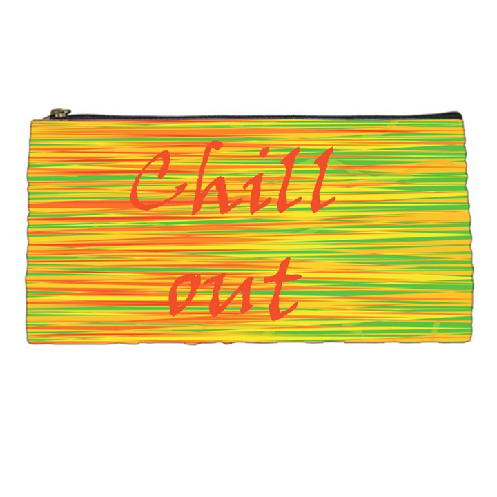 Chill out Pencil Cases