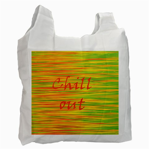 Chill out Recycle Bag (One Side)